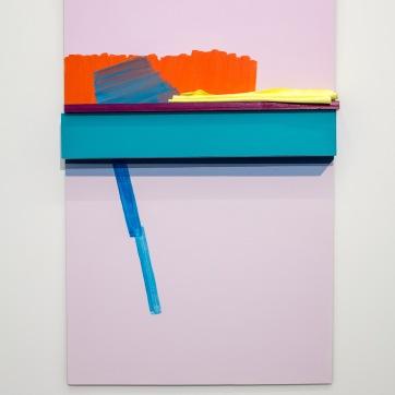 Painted Angles (Accumulation), Máluð sjónarhorn (hleðsla), 2017