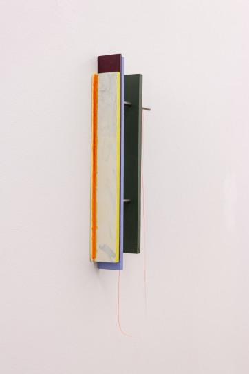 Painted Angles (Broken Line) / Máluð sjónarhorn (brotin lína), 2017