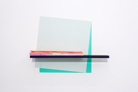 Painted Angles (Folded Canvas) / Máluð sjónarhorn (brotinn strigi), 2017