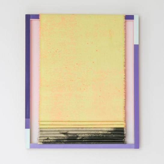 Painted Angles (pink flow)/ Máluð sjónarhorn (bleikt flæði), 2019