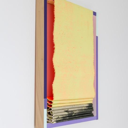 Painted Angles (pink flow)/ Máluð sjónahorn (bleikt flæði), 2019